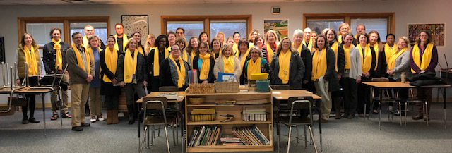 WMPCS Guides and Staff 2019 School Choice Week